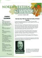 Northwestern weekly, Vol. *15, no. 2, Oct. 3, 2007