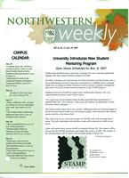 Northwestern weekly, Vol. 14, no. 5, Oct. 24, 2007