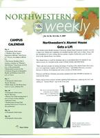 Northwestern weekly, Vol. 14, no. 10, Dec. 5, 2007