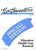 Northwestern bulletin and alumni news, Sept. 1986