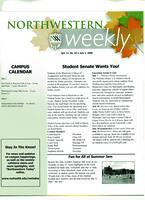 Northwestern weekly, Vol. *11, no. 43, July 2, 2008