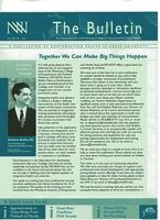 The Bulletin: for friends & alumni of the Minnesota College of Acupuncture & Oriental Medicine, Vol. 1, no. 1, Fall 2001