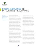 Racial inequities in integrative healthcare: a policy statement
