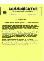 Communicator, Special edition, Nov. 15, 1990
