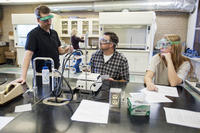 Northwestern Health Sciences University organic chemistry lab