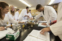 Northwestern Health Sciences University students in class