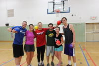 Northwestern Health Sciences University students dodgeball team