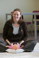 Northwestern Health Sciences University infant massage class