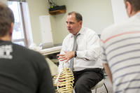 Northwestern Health Sciences University chiropractic students in class