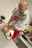 Northwestern College of Chiropractic student in class