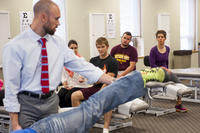 Northwestern College of Chiropractic students in class