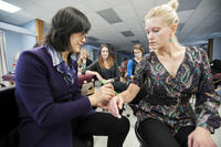 Northwestern Health Sciences University Acupuncture class