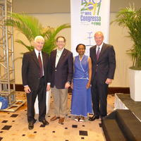 Northwestern Health Sciences University community members in Rio