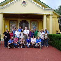 Northwestern Health Sciences University community members in Costa Rica