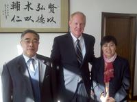 Northwestern Health Sciences University President Mark Zeigeler in China