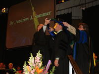Northwestern Health Sciences University's College of Chiropractic graduation ceremony
