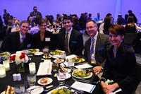 Northwestern Health Science University Student Leadership Awards Banquet attendees