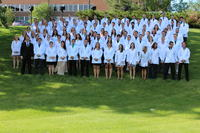 College of Chiropractic White Coat Ceremony group photo