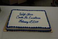 Wolfe Harris Center for Excellence ribbon cutting