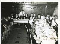 John B. Wolfe and others at formal gathering