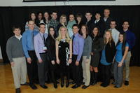 Northwestern Health Sciences University College of Chiropractic students