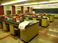 Lab at the Bloomington campus