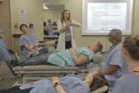 Chiropractic students in class