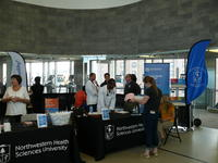 Northwestern Health Sciences University community members at Fit Fest