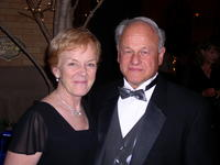Northwestern Health Sciences University President Alfred Traina and his wife Ann
