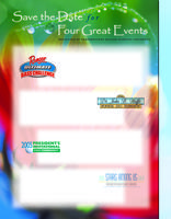 Events poster template
