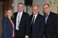 Northwestern Health Sciences University President Jeff Nelson and others