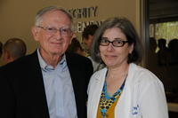 Northwestern Health Sciences University President Dr. John F. Allenburg and Dr. Anita Manne