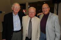 Northwestern Health Sciences University community members John F. Allenburg, Jack Holtz and Norman Horns