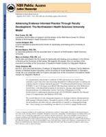 Advancing Evidence Informed Practice Through Faculty Development: The Northwestern Health Sciences University Model