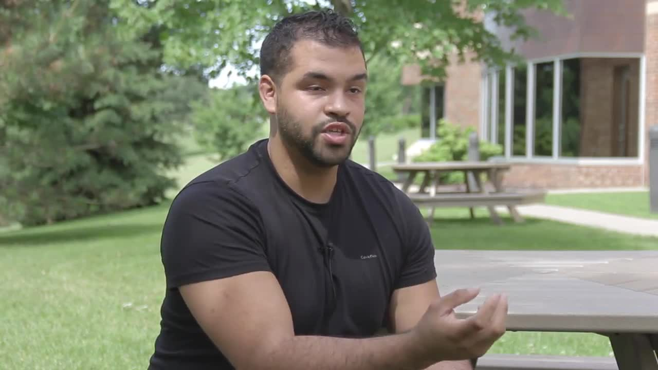 Jalil Saab talks about his experiences at Northwestern College of Chiropractic