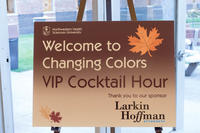 Changing colors: an autumn reception benefiting Northwestern