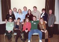 Group photo of chiropractic alumni
