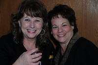 Northwestern Health Sciences University community members Debbie Peterson and Joanie Holst