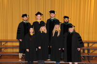 Group shot of chiropractic graduates