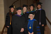 Northwestern Health Sciences University graduation attendees