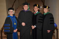 Northwestern Heath Sciences University graduation day