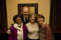 Northwestern Health Sciences University President Dr. Mark Zeigler with College of Chiropractic faculty members