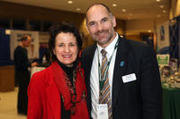 Maria Boosalis and Dale Healey